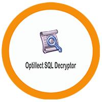 Optillect's SQL Decryptor on cloud