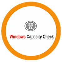 Windows Capacity Checkon cloud