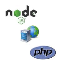 Webserver with Nodejs-php on Cloud